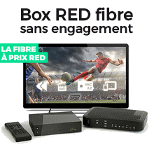 La Box de RED à 15€/mois
