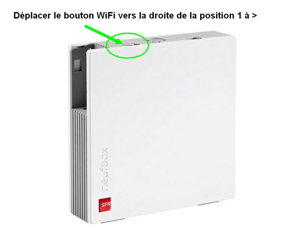 configurer la connexion wifi de la box de sfr et changer le mot de passe du r seau sans fil. Black Bedroom Furniture Sets. Home Design Ideas