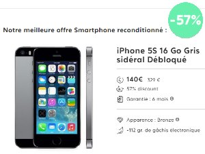 achat de t l phones portables reconditionn s moins chers un vrai bon plan. Black Bedroom Furniture Sets. Home Design Ideas